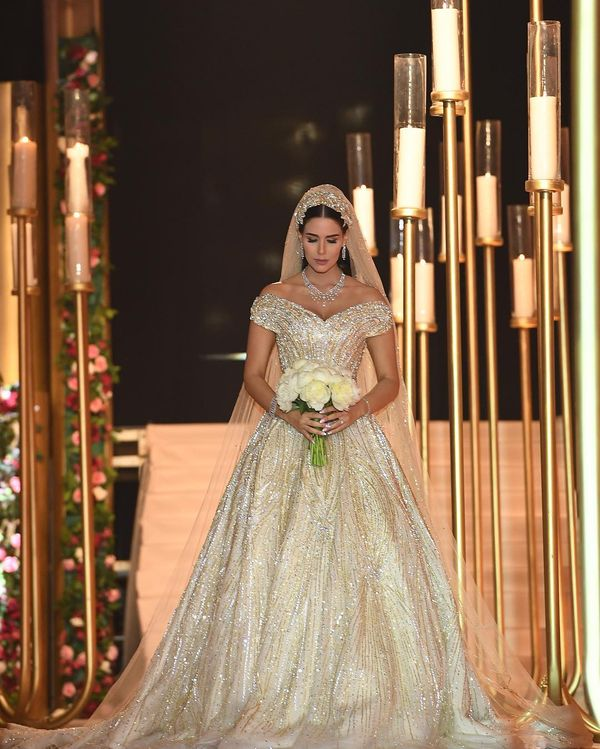 Samer Zayat Amazing Wedding Dress 02