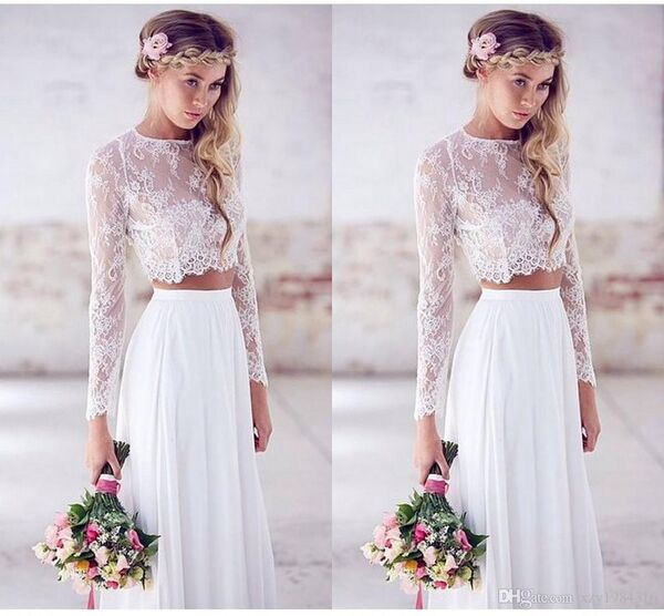 bridal crop top