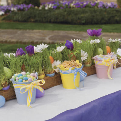 easter wedding deco