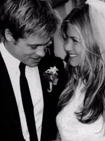 Brad Pitt & Jennifer Anniston