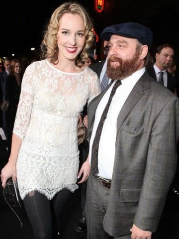 Zach Galifianakis & Mary Quinn Lundberg
