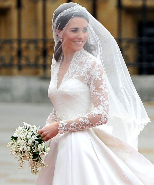 wedding veils kate middleton