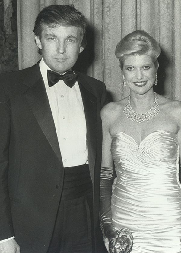 Donald Trump and Ivana Wedding