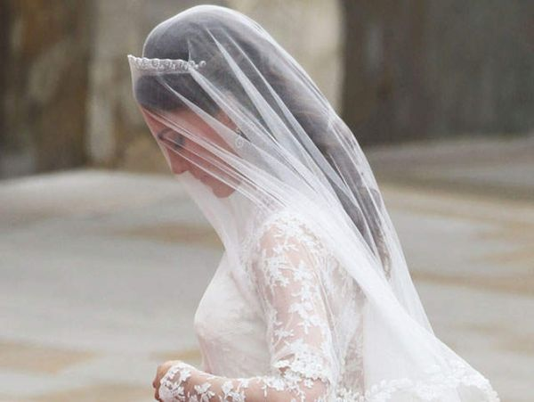 Veil  Kate Middleton