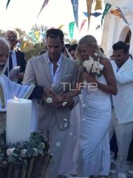 Ο Γάμος Βάσως Κολλιδά & Γιάννη Εμμανουηλίδη στην Πάρο (Φωτογραφίες)