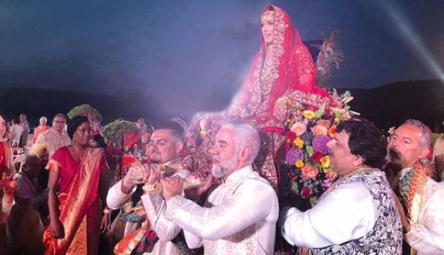Ο πολύχρωμος γάμος στο Σίσι κόστισε 1 εκατομμύριο δολάρια
