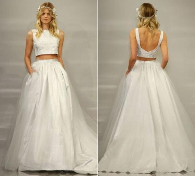 Bridal Crop Top για Εντυπωσιακές Νύφες του Καλοκαιριού !!!